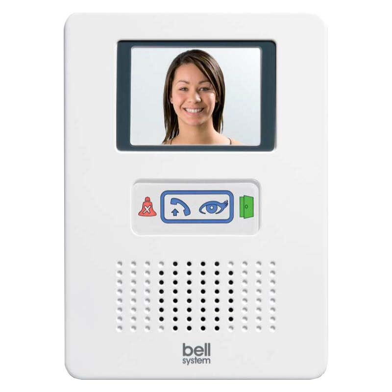 Bell System - 2 Way Bellfree Flush Colour Video Entry Kit