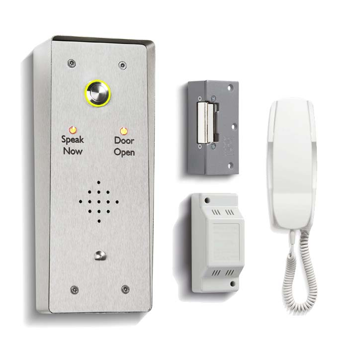 Bell One Way DDA Door Entry Kit With Surface Mount Panel