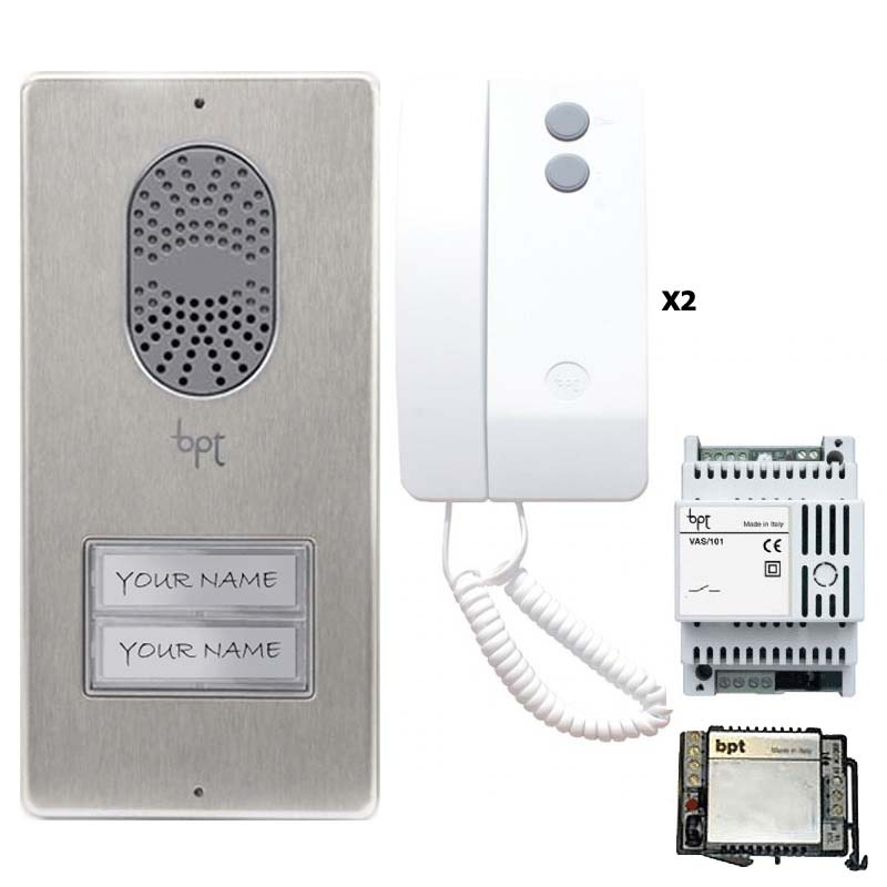 Bptag2bpt Thos To Agata Audio 2 Way White Handset