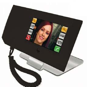 "BPT Porter Switchboard 4.3"" Touch Screen Black"