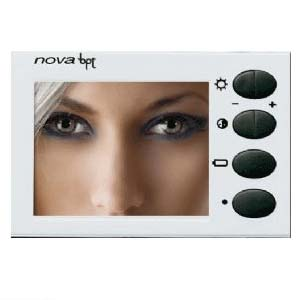 BPT X1 NOVA colour monitor module White