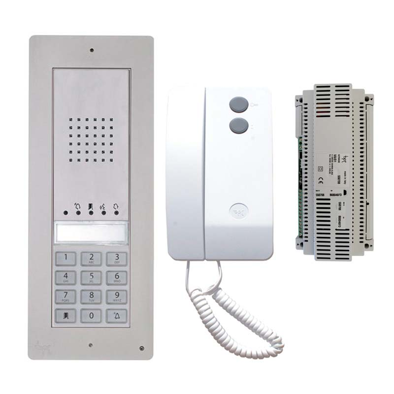 BPT - 1 Way Surface Audio Kit with Keypad and Agata Handset