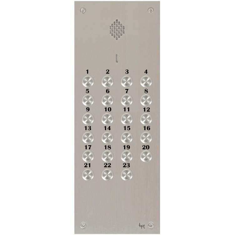 BPT - 23 Way Audio Vandal Resistant Panel for System 200