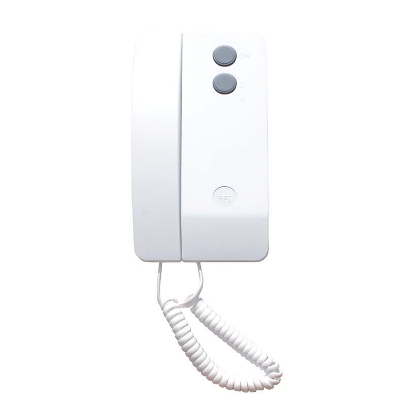Bpt vrag1 model 1 way vr intercom kit with agata handset for Door entry handset