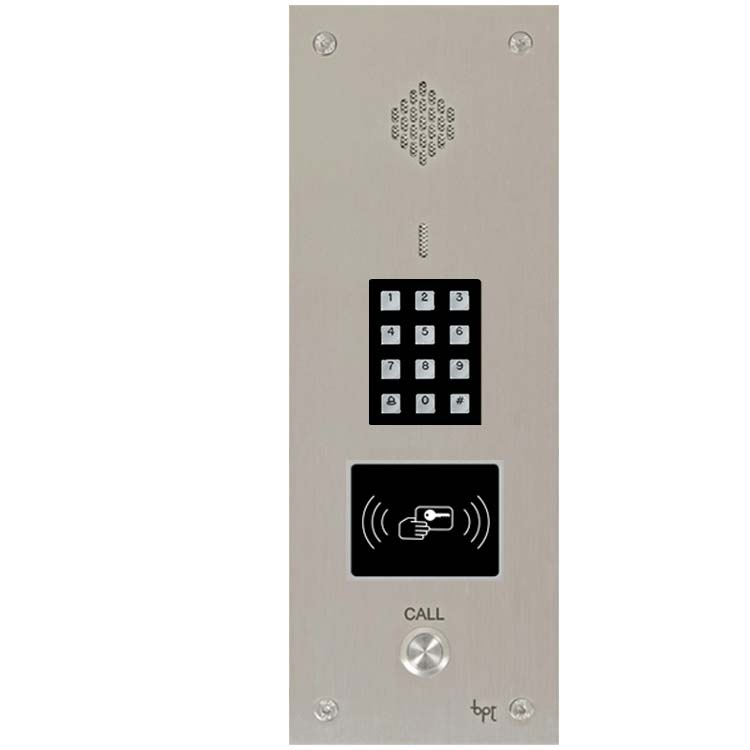 BPT 01 way VR audio panel with keypad & proximity cut-out