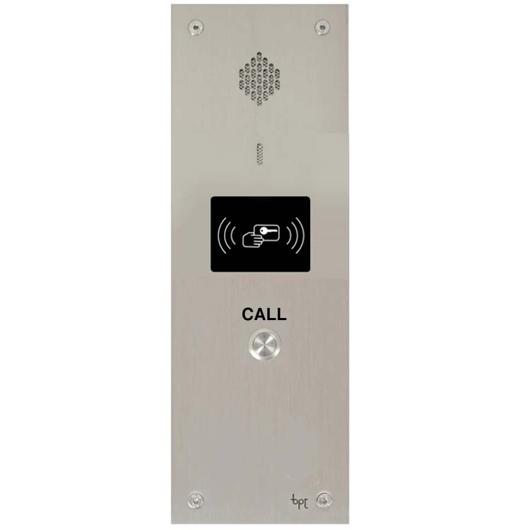 BPT - 1 Way Audio Vandal Resistant Proximity Panel for System 200