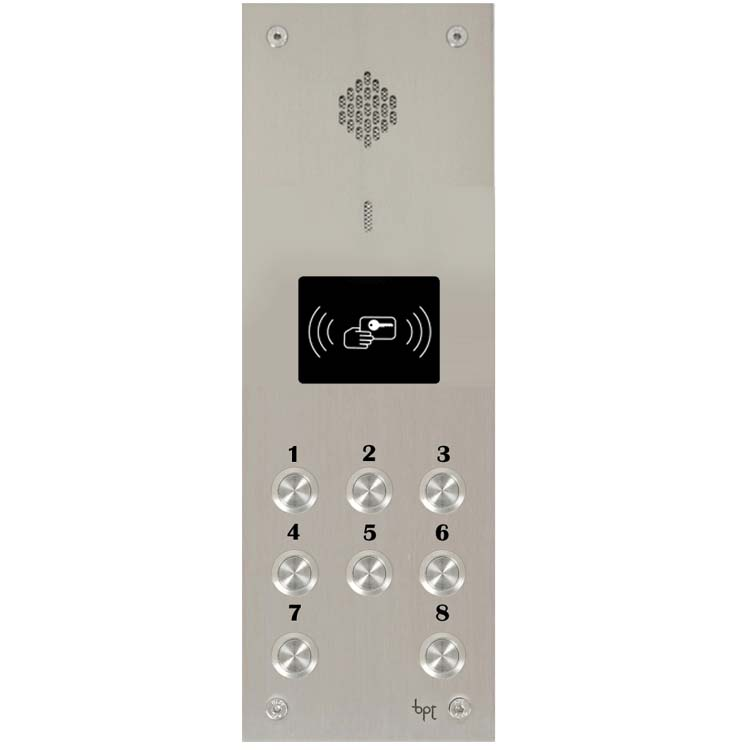 BPT - 8 Way Audio Vandal Resistant Proximity Panel for System 300