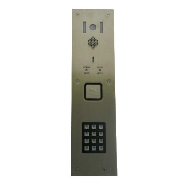 BPT - 1 Way Video Vandal Resistant DDA Keypad Panel for System 200