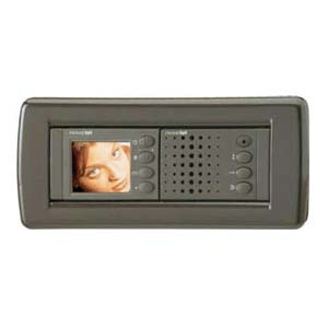 BPT Nova video monitor - Charcoal Syst 200 inv bckbox