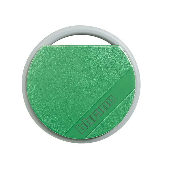 Bticino - Green Transponder Key with Unique User Code