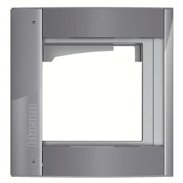 Bticino - Grey Support Frame for a Sfera Panel (1 Module)