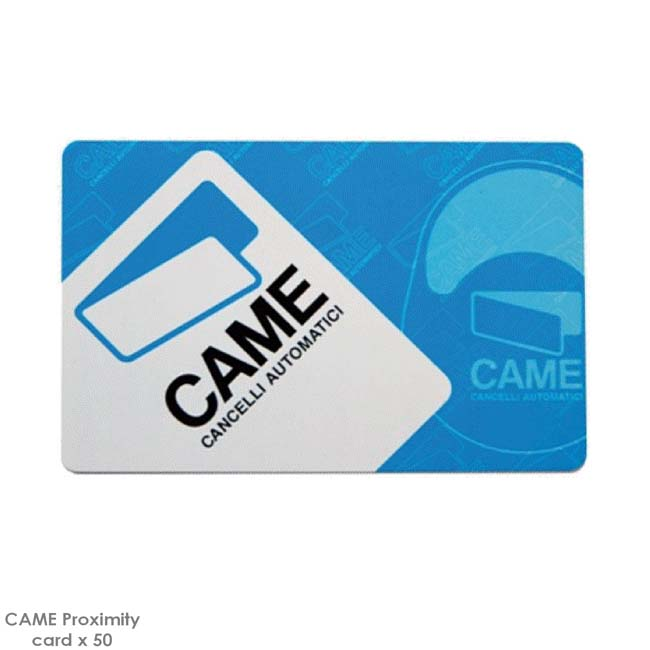 CAME Pack of 50 Proximity Cards