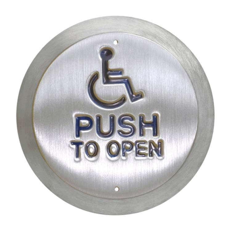 CDV Disabled switches with push to open
