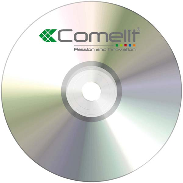 Comelit software to print the labels with user names