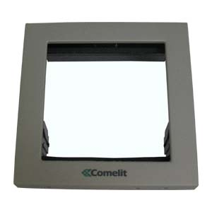 Comelit - 1 Module Holder Frame with Cornices for iKall and Powercom