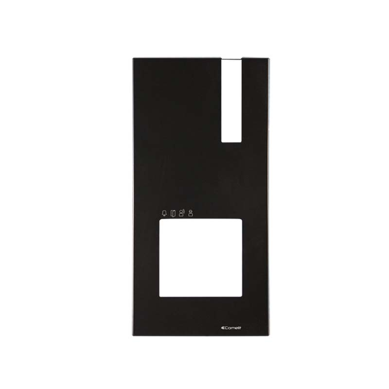 Comelit - Black Face Plate for Quadra Entry Panel