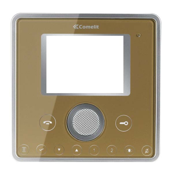 Comelit - Front Cover 2 Push-Buttons Gold
