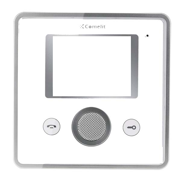 Comelit - Front Cover 2 Push-Buttons White