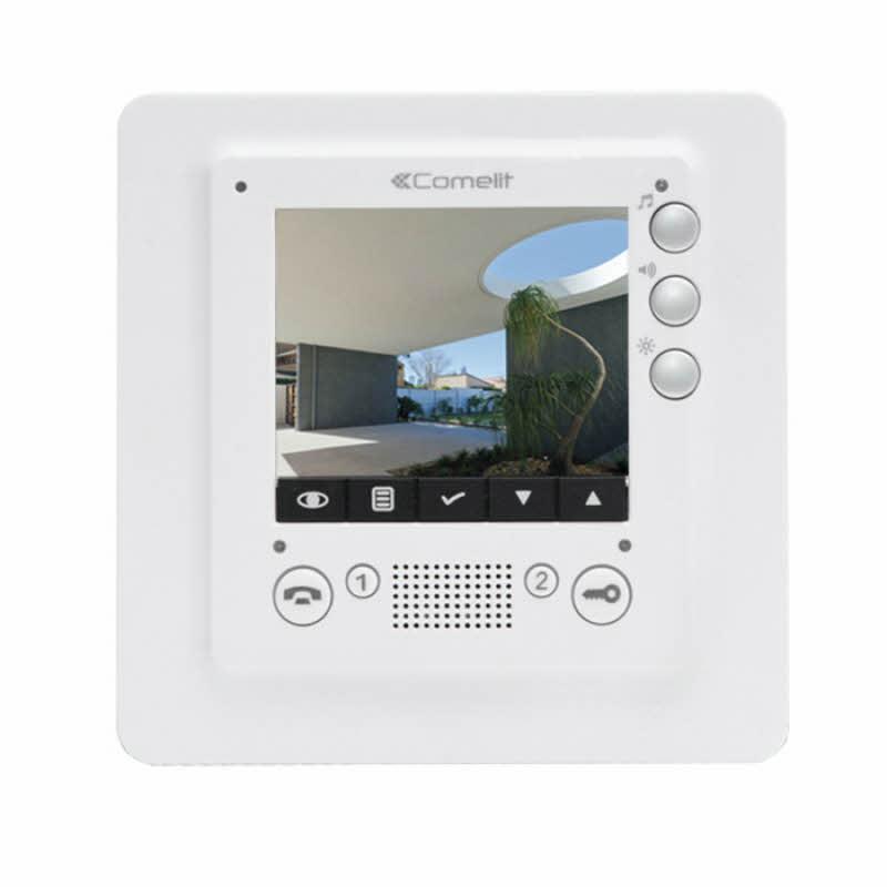 comelit 6304h com colour video intercom monitor. Black Bedroom Furniture Sets. Home Design Ideas