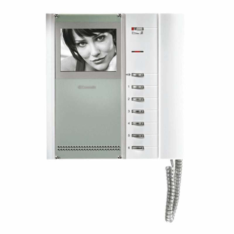 Comelit - One Way Video Entry Kit With Flush Vandal Resistant Panel