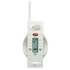 Wireless 1 function handset, beige, rechargable