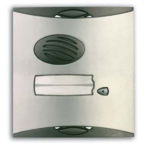 Vandal resistant cover for 1 button door station