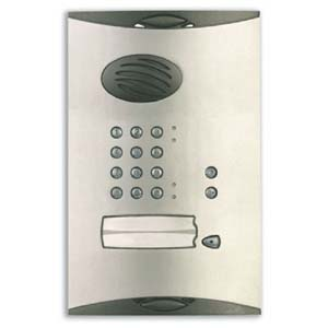 Daitem - Vandal Resistant Cover for 1 Way Entry Panel with Keypad