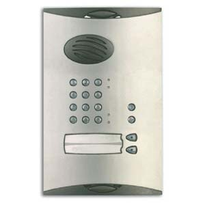 Daitem - Vandal Resistant Cover for 2 Way Entry Panel with keypad