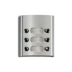 Elvox 6Way 'Galileo' Panel Button Module Light Grey