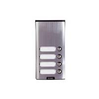 Elvox - 4 Way Push Button Only Surface Entry Panel