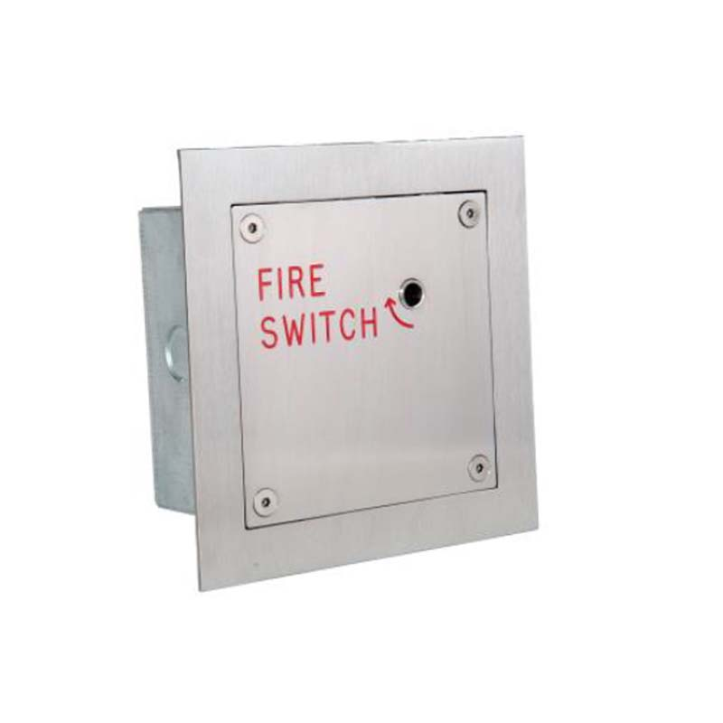 Entrotec FS4/BZ Stainless-Steel Double Pole Firefighter Switch