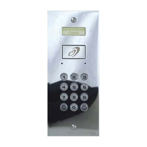 Entryphone - 99 User Flush Coded Access Standalone Keypad