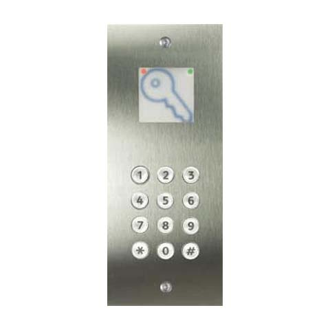 PinNet reader & keypad - flush