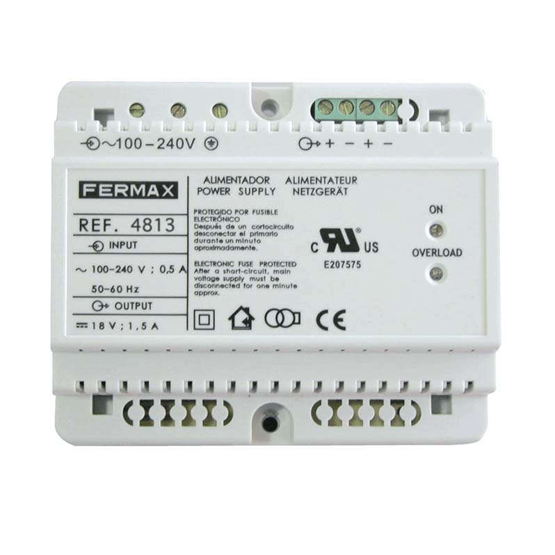 F 1635_3 fermax f 1635 1 way cityline vivo video kit with 7 inch white Aiphone Intercom Wiring-Diagram at aneh.co