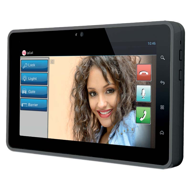Infinite Play 1 way video kit with 7 inch monitor (Black)