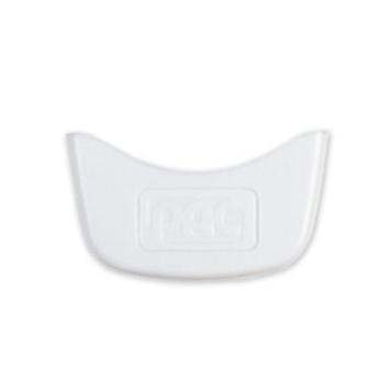 PAC logo coloured clip - white (pack of 10)