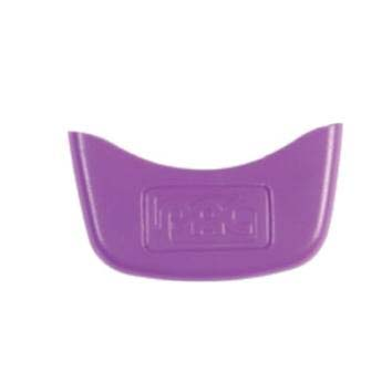 PAC logo coloured clip - purple (pack of 10)