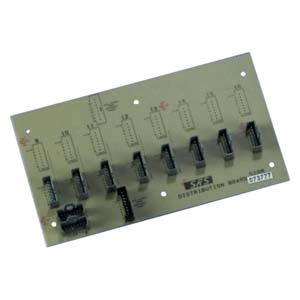 Distribution board for 8 telephone handsets - unpluggable