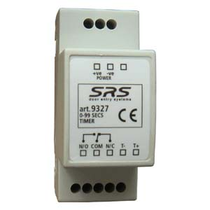 SRS - Time Delay Relay 0-60 sec. DIN mount, 12V DC