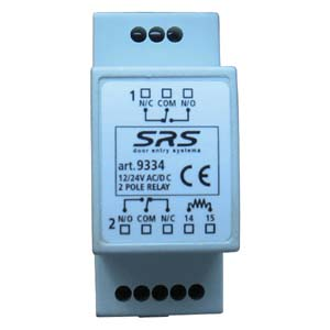 Standard 2 Pole Relay 12/24 V AC/DC, 5 Amp