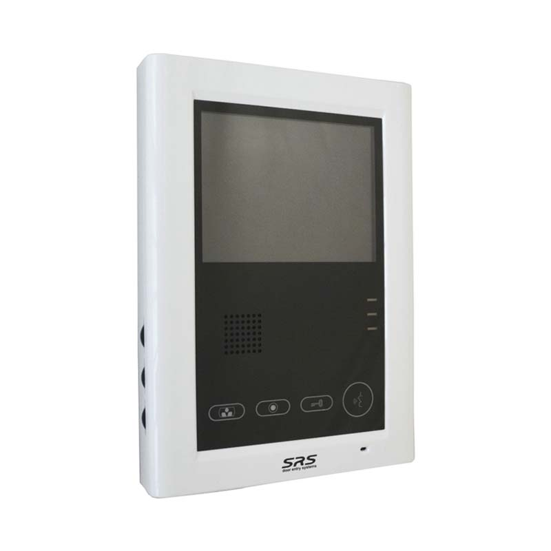 SRS - 1 Way Surface Video Kit with 4 inch Handset Free Video Monitor