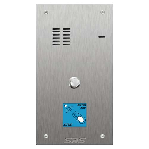 Keyless Door Entry Audio Panel - 1 Way Prox Size A, VR SS (SRS)