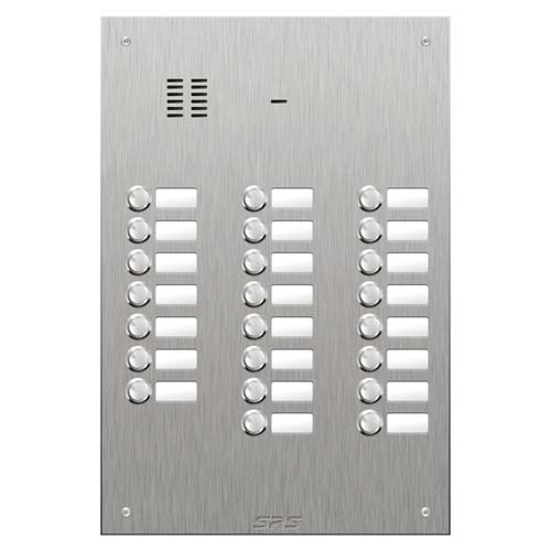 SRS 23 button s. steel VR audio entry panel Size D4