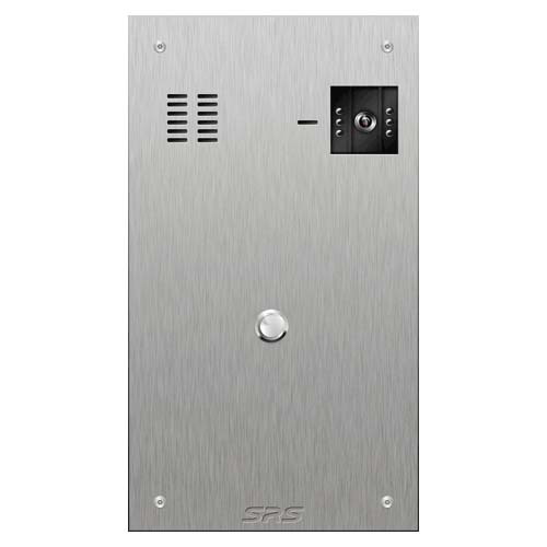 SRS 1 button s. steel VR video entry panel Size D