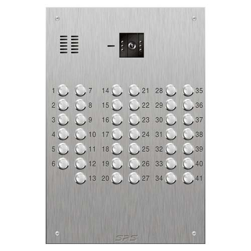 SRS 41 button s. steel VR video entry panel Size D4