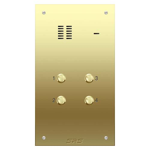 04 way VR audio brass panel, size D