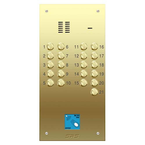 21 way VR audio brass panel, PROX size D2