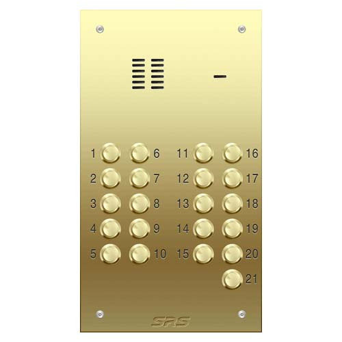 21 way VR audio brass panel, size D