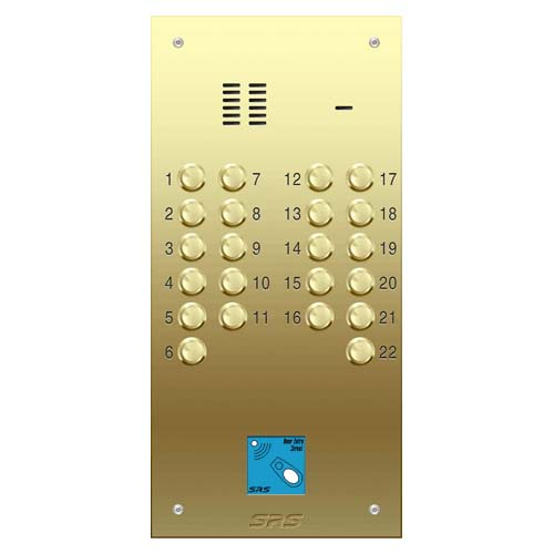 22 way VR audio brass panel, PROX size D2