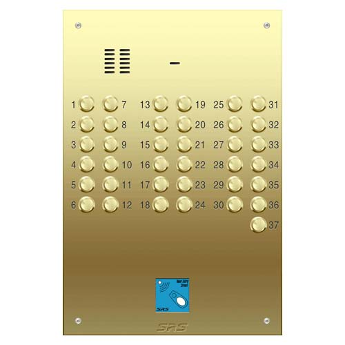 37 way VR audio brass panel, PROX size D4